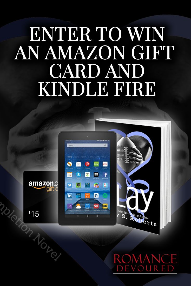 Win a Kindle Fire or up to $25 in Amazon Gift Cards from USA Today Bestselling Author Holly S. Roberts