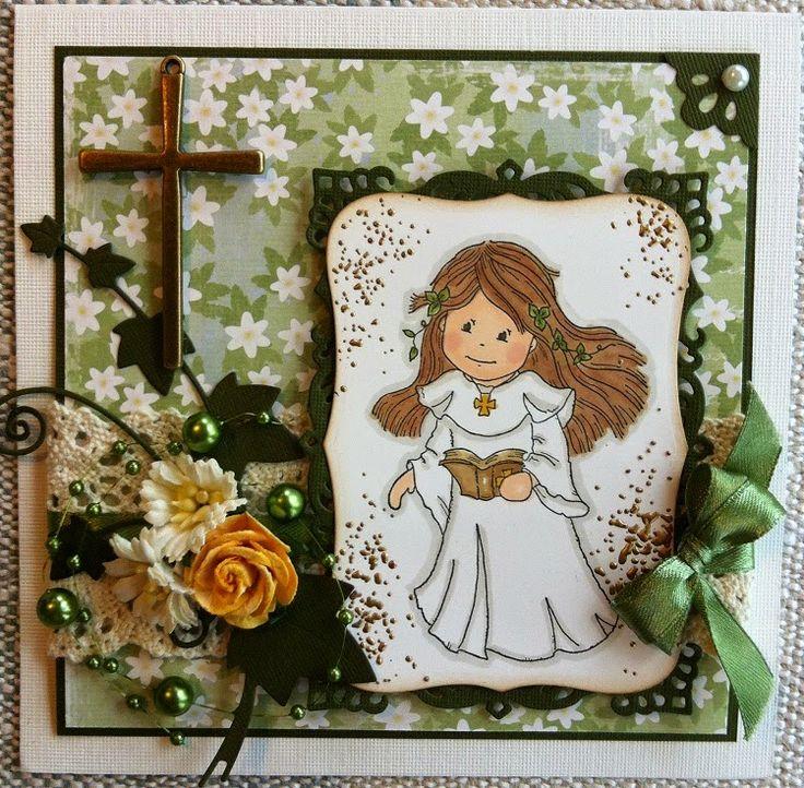 made by Annelie...: Konfirmationskort