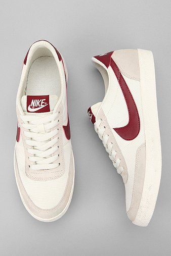 Nike Canvas Killshot Sneaker... Looks a lot like the ones Brian May was wearing during the Queen concert in Montreal.