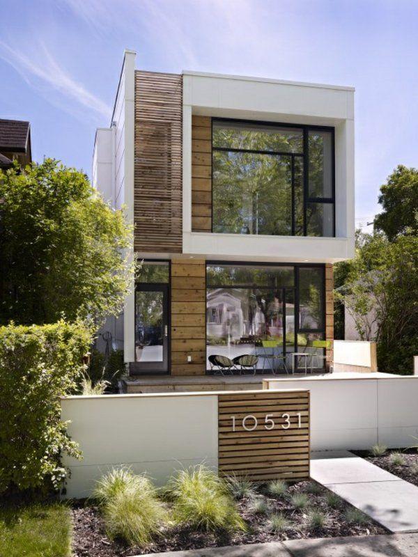 Fassade modern einfamilienhaus  121 besten Häuser modern Bilder auf Pinterest | zeitgenössische ...
