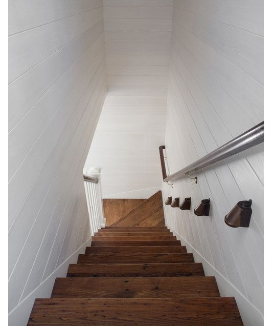 267 best images about stairs ironwork on pinterest for Enclosed staircase design