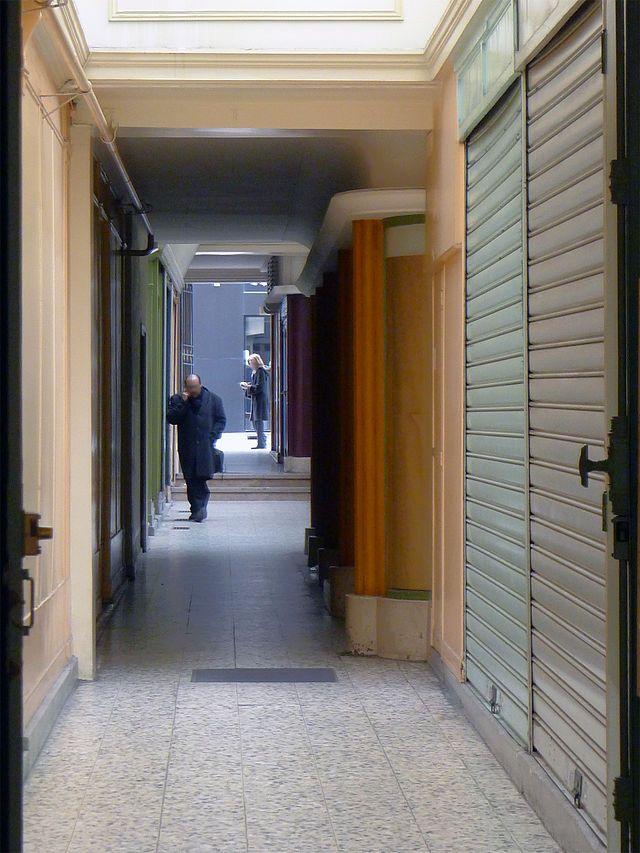 Le passage SAINTE - ANNE est un passage couvert piétonnier situé dans le 2e arrondissement de Paris , FRANCE, Il s'ouvre à l'est au 59 rue Sainte-Anne, à l'opposé du débouché des rues Rameau et Cherubini sur celle-ci. Il se termine 47 m à l'ouest, directement sur le passage Choiseul, au no 52. Date de création : 1829,......SOURCE WIKIPEDIA.ORG........