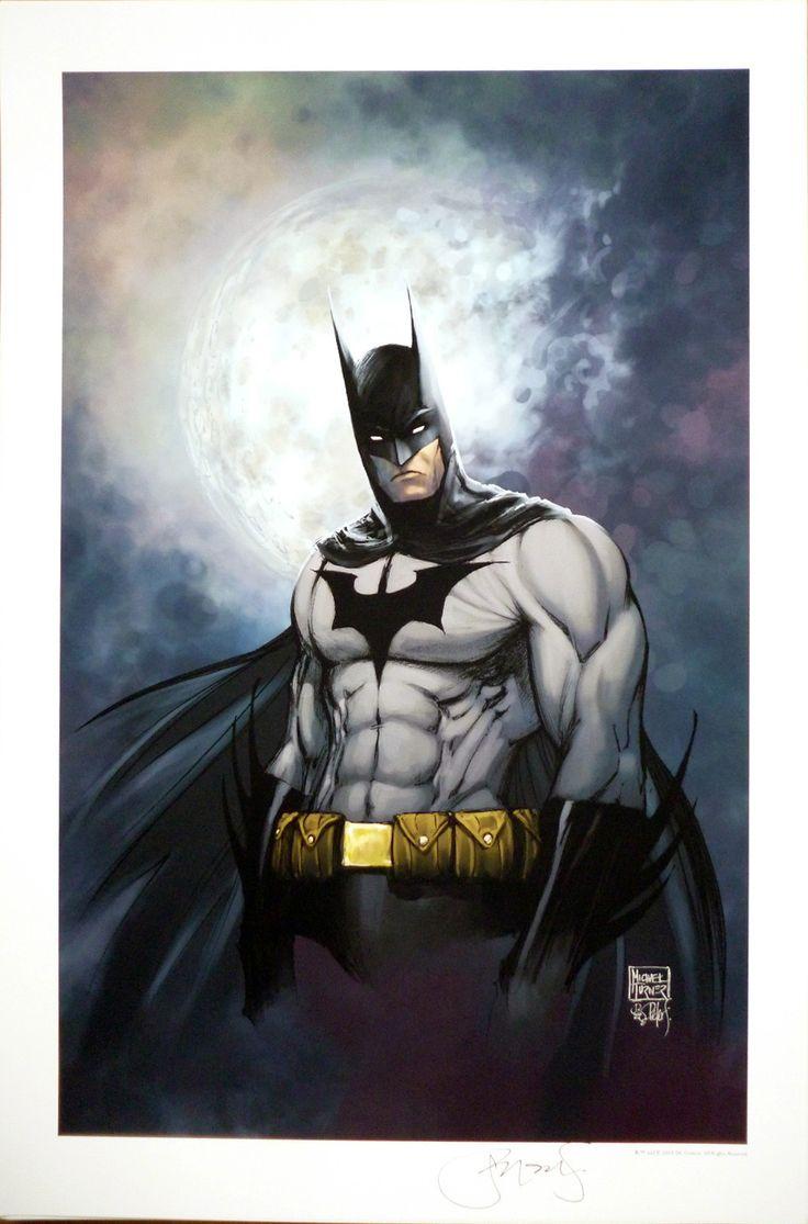 michael turner - BATMAN ART PRINT BY MICHAEL TURNER & PETER STEIGERWALD