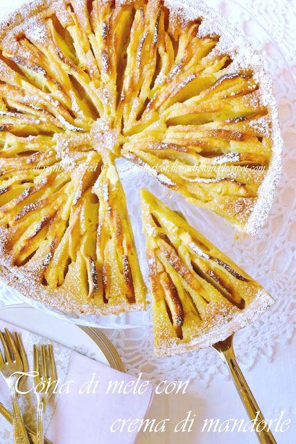 apple & almond custard pie (recipe only in Italian)
