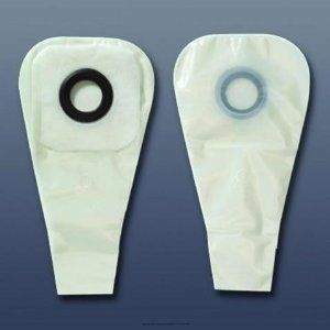 """(BX) Karaya 5(c) Drainable Pouch by Hollister. $142.97. Product is sold on this unit of measure - BX. Flange~1""""^Pre-Cut~5/8""""^Length~12""""^Style~Drainable^. Seal ring made of natural Karaya offers flexibility, shallow convexity, and is bacteriostatic. Sensitive skin is protected from the digestive enzymes in stomal discharge as well as bacterial growth and irritation. Karaya 5 is safe and hygienic; is easy to use, remove, and clean; adheres to dry skin; is moldable to fi..."""