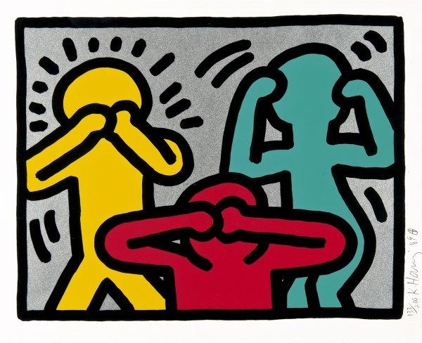 Keith Haring - POP SHOP III - Hafenrichter Gallery