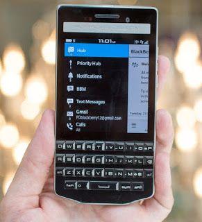 The Masterplan: Privileged BlackBerry Porsche Design P9983 - 64GB