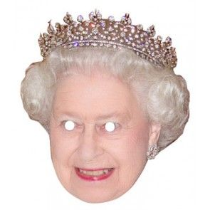 Queen Elizabeth Celebrity Mask