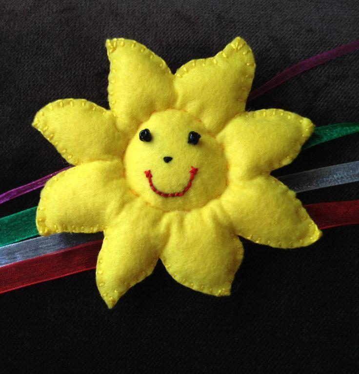 Güneş Keçe Magnet  bebek şekeri