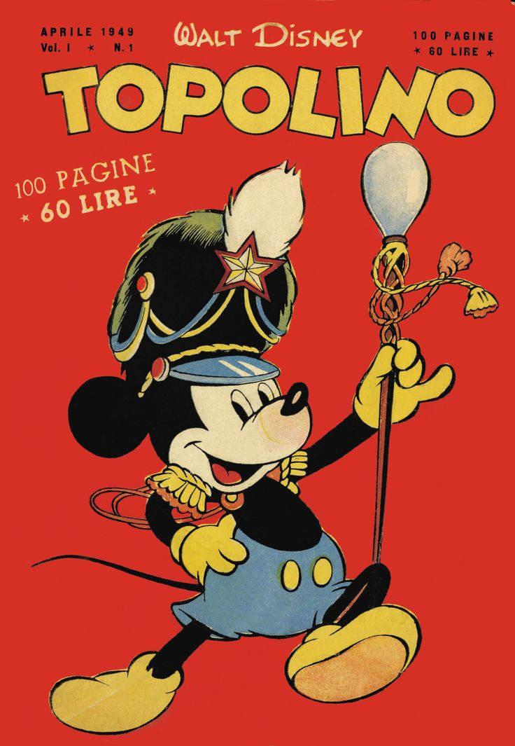 #Topolino n1 - 1949
