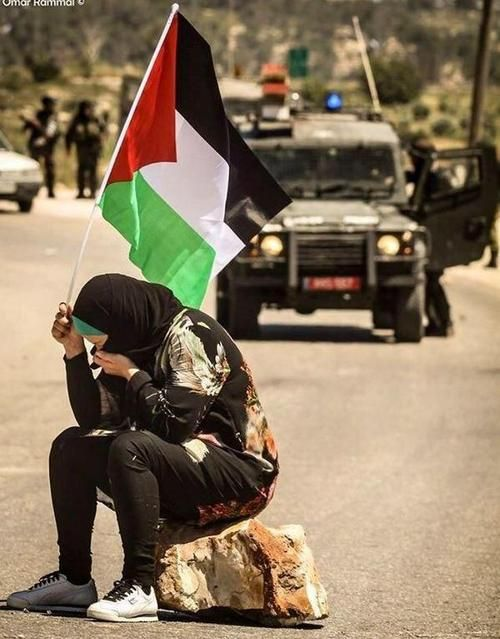 Palestine flag will never fall