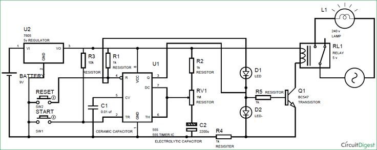 circuit diagram electronic voting machine using microcontroller
