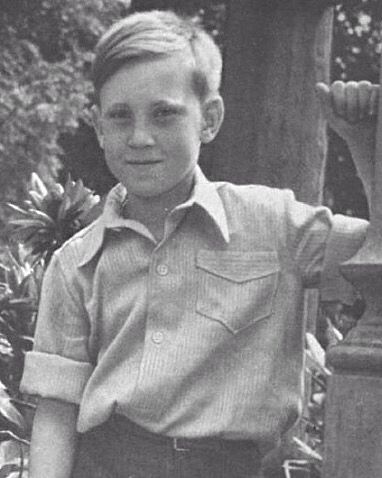 8-year-old Vladimir Vysotsky, 1946