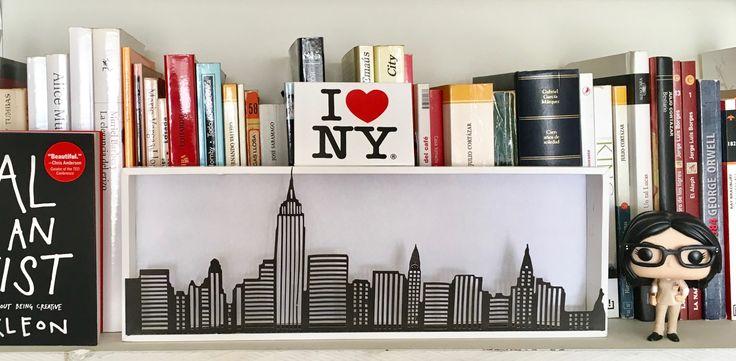 NEW YORK SKYLINE PAPER CUTTING. BROTHER SCAN N CUT DIY www.diyemprende.com