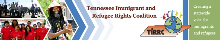 TIRRC is a statewide, immigrant and refugee-led collaboration whose mission is to empower immigrants and refugees throughout Tennessee to develop a unified voice, defend their rights, and create an atmosphere in which they are recognized as positive contributors to the state.