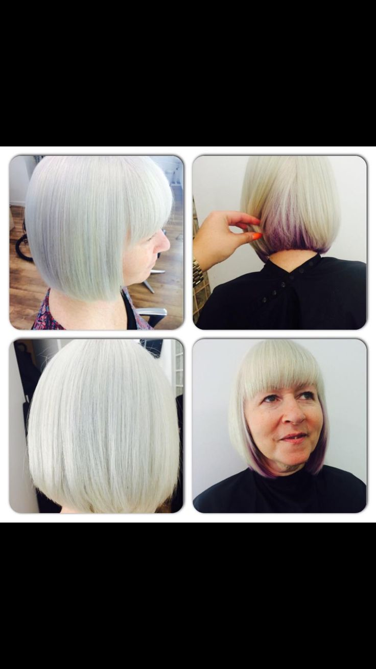 Great purple under colour from Pelo professional.