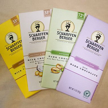 Try the latest creations from Scharffen Berger's chocolatiers! Wrap your taste…