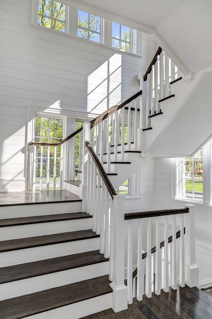 Style home westport ct cardello architects serving westport - Architects Robert Ri Chard Homes Stairs