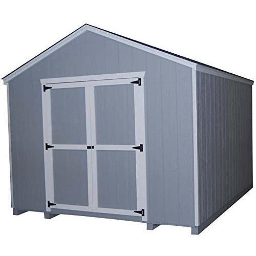 Little Cottage Co 12x14 Value Gable Wood Storage Shed Kit