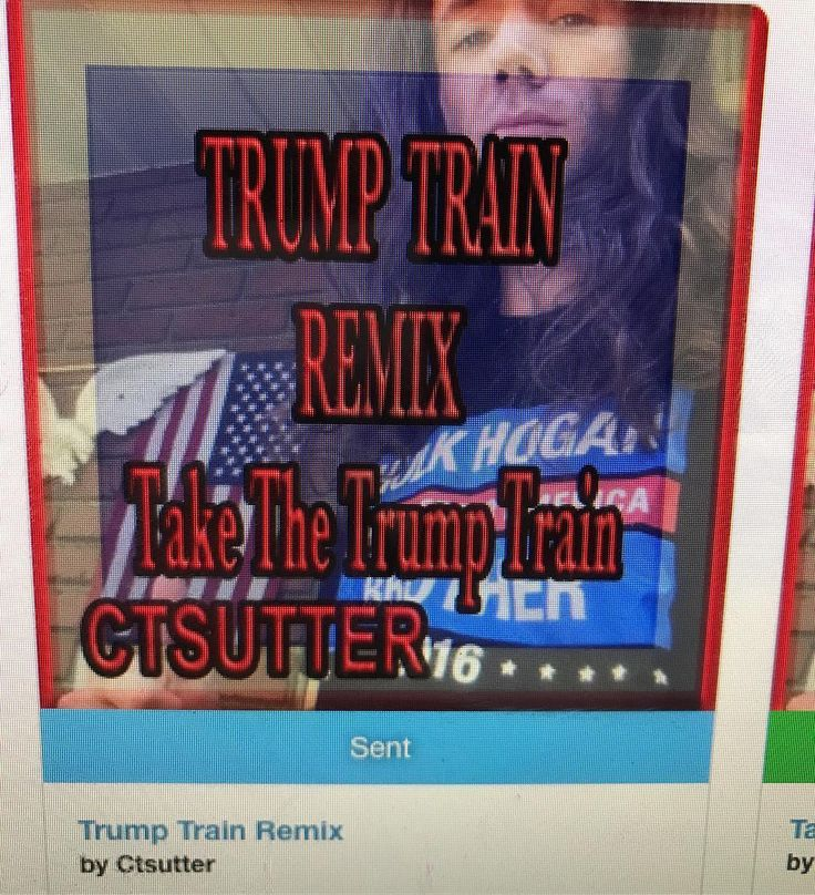 That #TrumpTrain #Remix #ComingSoon to #MusicStores #Search #CTSUTTER #Download #MAGA #Dance #Electronica #ElectronicRemix #DanceMusic #UpBeat #TrumpTrainRemix #Sutter #Release #MusicRelease #Trump #TakeTheTrumpTrain #Song #Remixed #Production #Single #Remixer #Remixes #SongRelease #MakeAmericaGreat #MakeAmericaGreatAgain #trump2016 #trump
