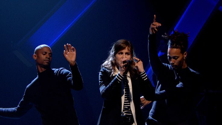Christine and the Queens - Tilted / I Feel For You - Later... with Jools...