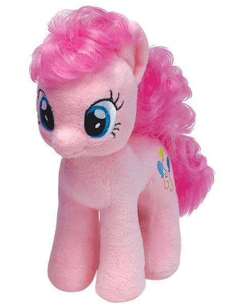 My Little Pony, Pinkie Pie -pehmo Juhlia rakastava Pinkie Pie haluaa höpsötellä kanssasi. Suloisen pehmolelun korkeus on 33 cm
