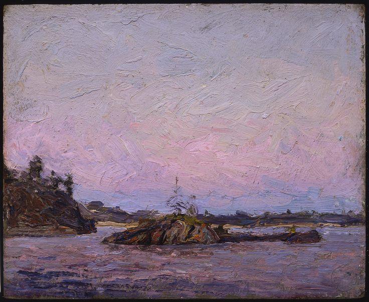 Tom Thomson Catalogue Raisonné | Georgian Bay, Near Dr. MacCallum's Island, Summer 1914 (1914.29) | Catalogue entry