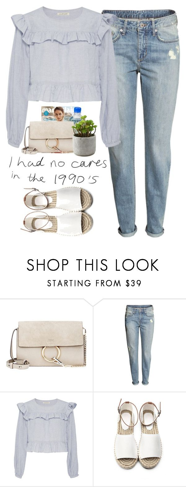 """""""- I had no cares -"""" by lolgenie ❤ liked on Polyvore featuring Chloé, H&M and Jill Stuart"""