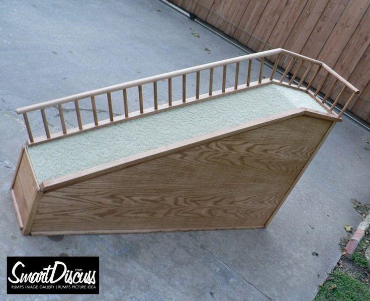 Diy Portable Handrails : Ideas about dog ramp on pinterest pet