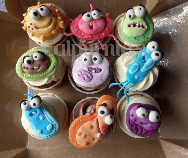 Bacterium cupcakes