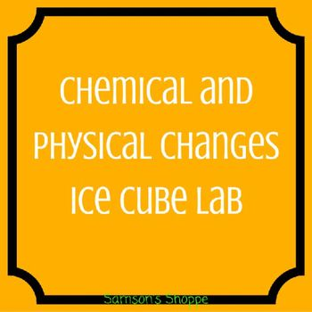 lab work chemical changes Open document below is an essay on lab 19- thermal energy associated with chemical and physical changes from anti essays, your source for research papers, essays, and term paper examples.