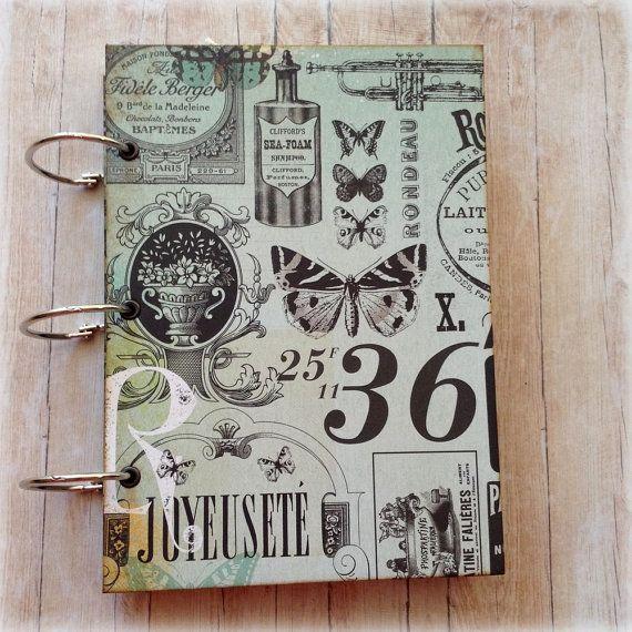Music & Butterflies Junk Journal. Handmade by AStoryFullOfJournals
