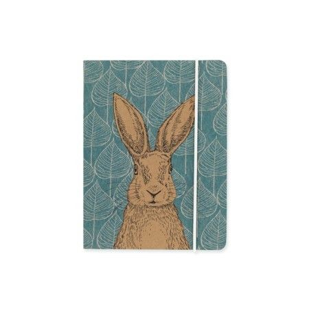 Woodland Trust Hare A6 Notebook - £6.50