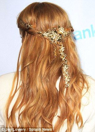 Disney princess: Bella Thorne wore a whimsical star headband in Hollywood at the Paul Frank 2013 Swim Collection launch party on Monday