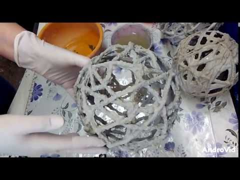 """DIY Beton Kreativ """"Gitter Kugel """" - YouTube"""