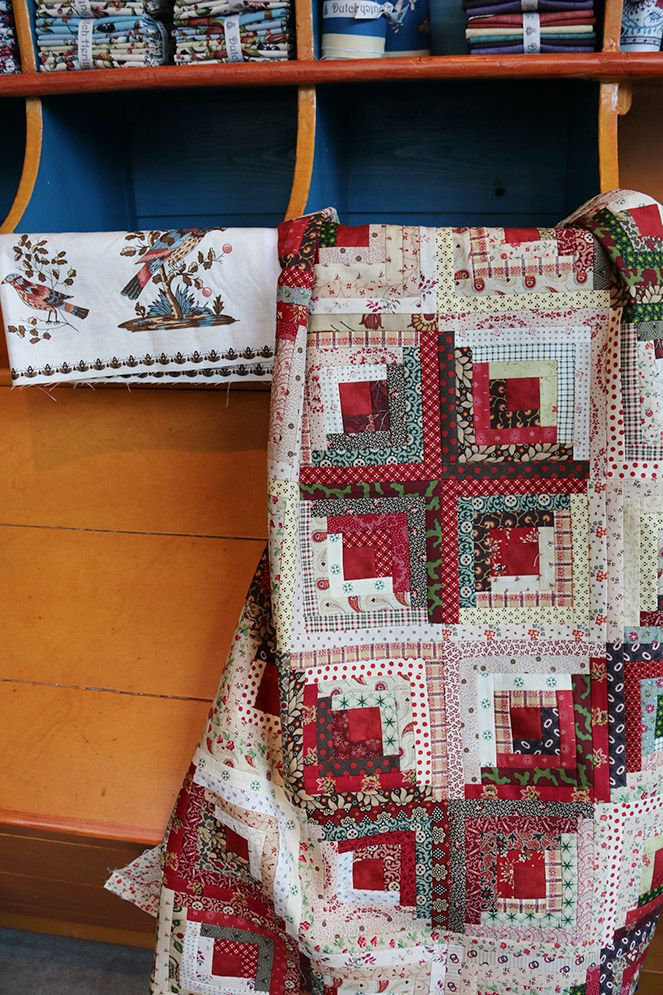 Dutch quilts museum and shop!