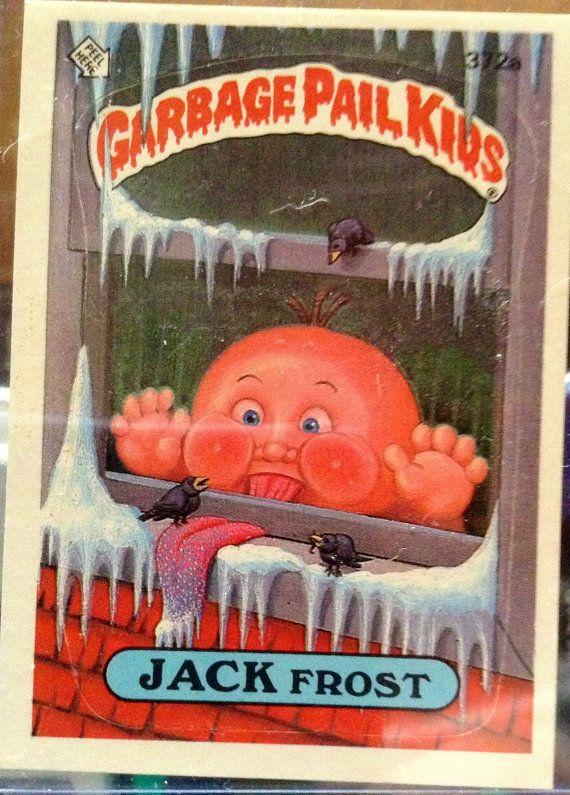 "Garbage Pail Kids ""Jack Frost"""