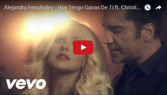 Watch: Alejandro Fernández - Hoy Tengo Ganas De Ti ft. Christina Aguilera See lyrics here: http://christinaaguilera-lyric.blogspot.com/2016/02/hoy-tengo-ganas-de-ti-lyrics-christina.html #lyricsdome