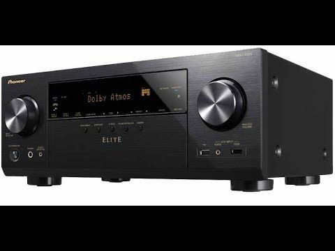 Hot Pioneer Elite VSX-LX303 9 2-Channel 4K UHD HDR Network