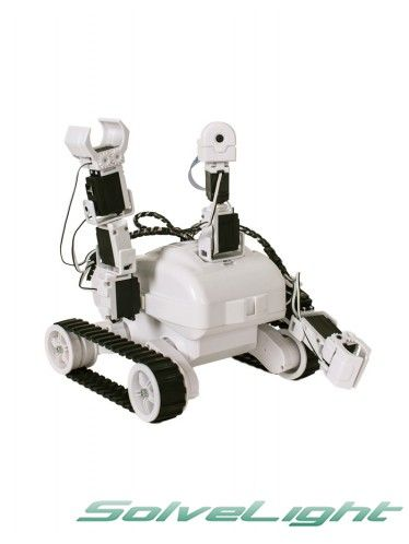 EZROBOT Revolution ROLI Rover Robot Kit is a very customizable planetary rover styled robot kit with 13 female EZ-Bit connections for additional EZ-Bits. Much like a space exploration vehicle, this robot was designed to be a workhorse and move across different surfaces.#robot #humanoid #robothumanoid #robots #robotics #robot #kit #robotic #kit #diy #robot #duyrobotickit #diyrobot #robotickit #kitrobot #robotforeducation #robot #for #kids #robotforkids #robotic #toy #robotictoy #robottoy…