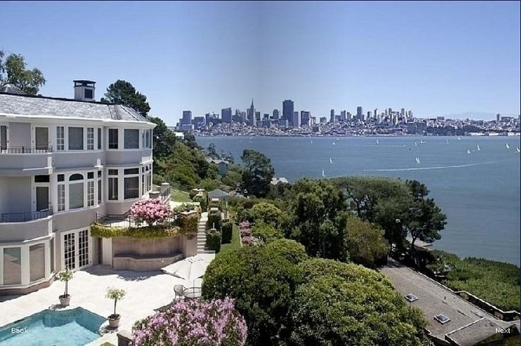 superb villa for sale Belvedere san francisco panoramic sea views on the golden gate bridge luxury california real estate Sotheby's International Realty