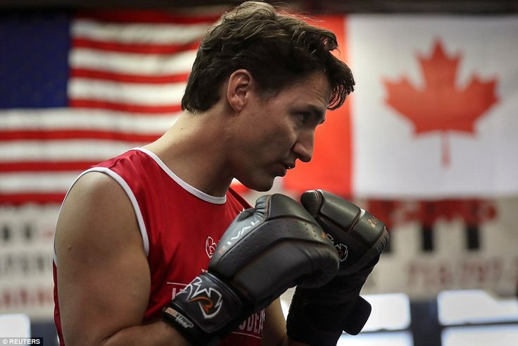 Trudeau won a highly-publicized charity boxing match against Conservative Sen. Patrick Bra...