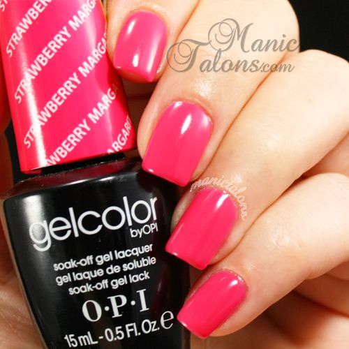 OPI GelColor Strawberry Margarita