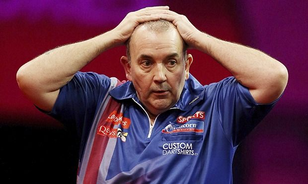 World Darts Championship: Phil Taylor says missed doubles cost him 17th world title