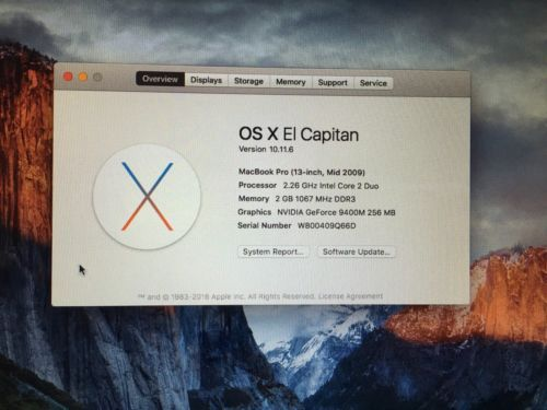 "Apple MacBook Pro 13.3"" Laptop (June 2009)"
