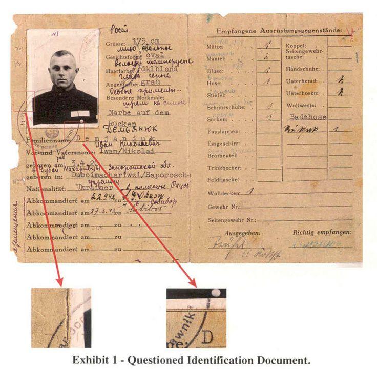 Dokument des Krieges:  Dieses am 21. Februar 2002 vom Justizministerium in...