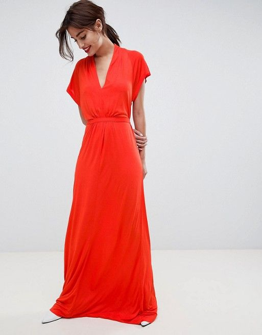 5f69499566b French Connection Falaise Fleur Maxi Dress in 2019