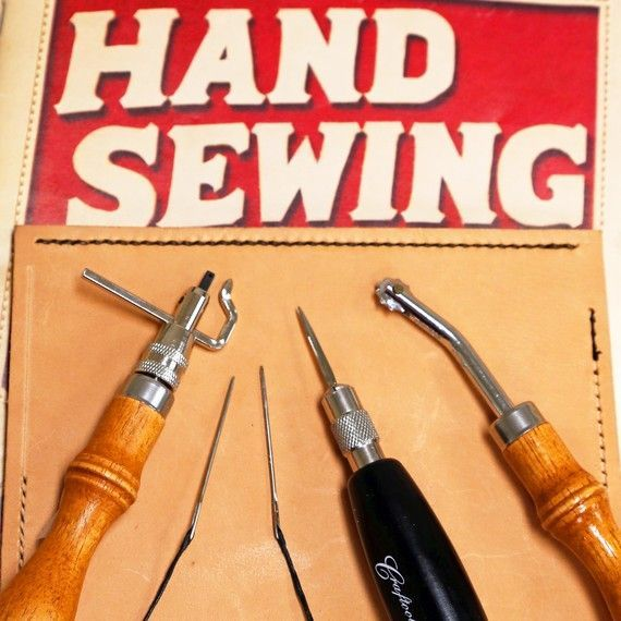 The Best Way to Sew Leather Is Actually By Hand! Here's How  Not only is it personally gratifying to hand-sew leather, but this manual technique also offers a stronger suture than the traditional lock stitch created by sewing machines.