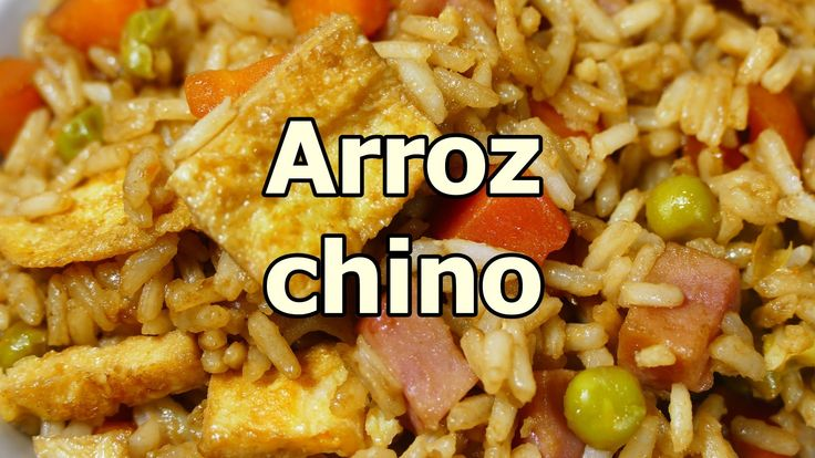 receta ARROZ FRITO CHINO TRES DELICIAS - recetas de cocina faciles rapid...
