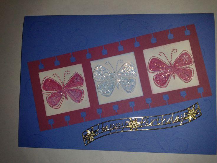 Butterflies on film